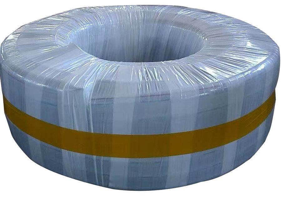 خرطوم شفاف مدعم بالسلك قطر 1 بوصه