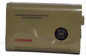 مثبت تيار  كهربي 3000 وات  CROWN